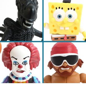 THE LOYAL SUBJECTS ACTION VINYLS